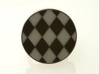 VIVID グレー×ブラック アーガイルの画像