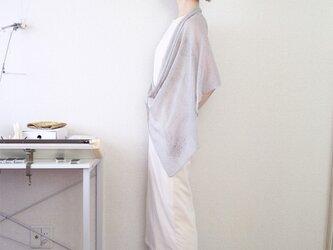 ◆即納◆Ara[アラ] エアリー・ストール / グレー・ベージュの画像