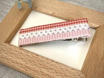 カード織りヘアクリップ ::C.D.B.pink::の画像