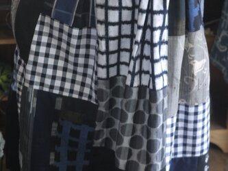 Y様専用久留米絣反物からギャザースカートの画像