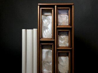 産地別水晶(クォーツ)標本箱縦型その三。の画像