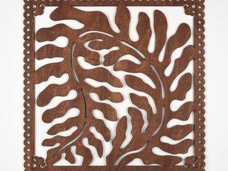 ビッグウッドフレーム「海草」(木の壁飾り)の画像