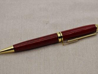 ボールペン ( ツイスト式 )  朱漆パール粉蒔の画像