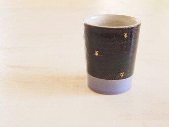 音の鳴るビアグラス(青/ラベンダー)の画像
