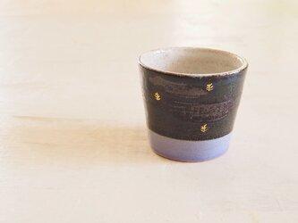 音の鳴るフリーカップ(青/ラベンダー)の画像