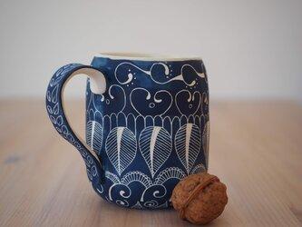 青いマグカップ(中1)の画像