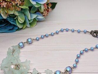 ブルー・ホライズン(涼やかな花のNecklace)の画像