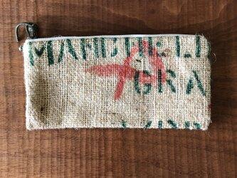 コーヒー袋のペンケースの画像