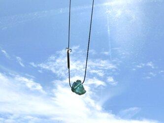 ocean blue necklaceの画像