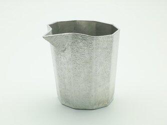 錫製 片口 (十面)の画像