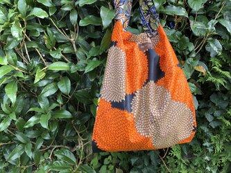 オーダー品 アフリカ布エコバッグの画像