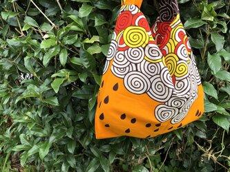 b388-アフリカ布エコバッグの画像