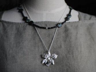 《セット》ランとセラフィナイトのネックレスの画像