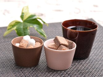 マルチカップ(H) アメ色(光沢のある茶色)の画像