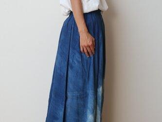 【染めあそび】powan skirt long cotton100の画像
