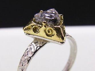 ゴールド&ダイヤモンド・リング * 18k Diamond Ring △llの画像