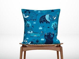 森のクッション Various animalse designs  -ヒノキの香り-の画像