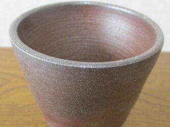備前焼 ビアカップ④の画像