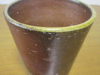 備前焼 ビアカップ②の画像
