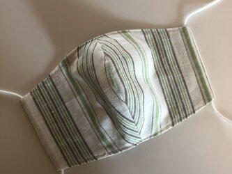 遠州織マスク 若草の画像