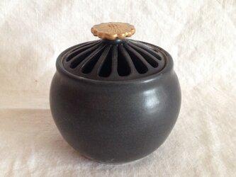 金花香炉(黒)の画像