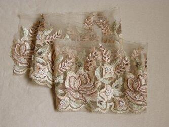 インド製刺繍リボン 7526の画像