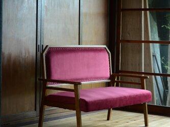 Red / Modern 2P Sofaの画像