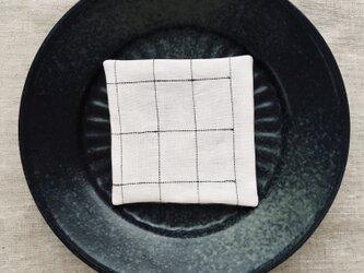 リネンコースター Grid-Lの画像