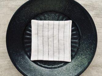 リネンコースター Stripeの画像