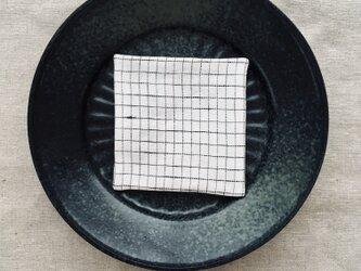 リネンコースター  Grid-Sの画像