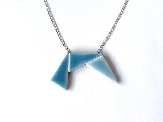 三角タイルのネックレス(ミニ)の画像