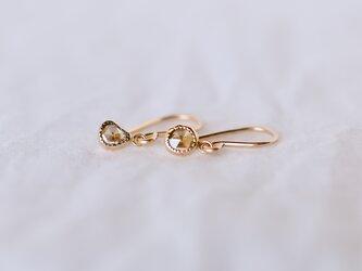 Fragment Diamond Earrings Cinnamonの画像