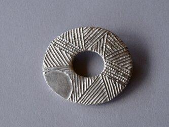 ブローチ(銀彩) 木の葉-4の画像
