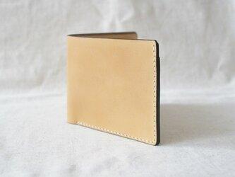 二つ折り財布 《 Natural 》の画像