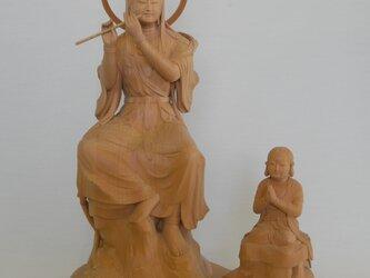仏像1-01 観世音と善賊童子の画像