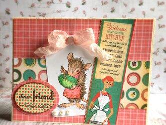 dear friend マウスのカードの画像