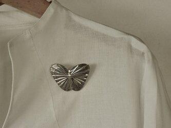 ブローチ(銀彩) 蝶-6の画像