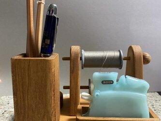 ヨコ型スプールホルダーH(糸通し器用)の画像