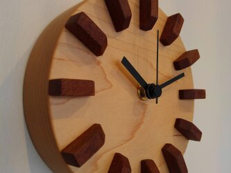 memezo さま ご注文品(小さな掛け時計)の画像