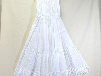 TAMIさまご注文品シュミーズドレス 白の画像