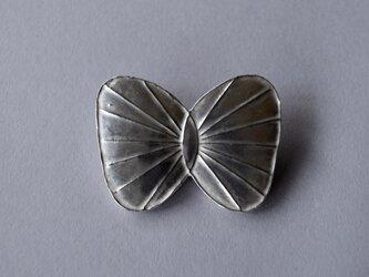 ブローチ(銀彩) 蝶-1の画像