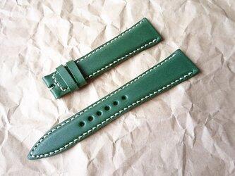 腕時計ベルト 20-16mm グリーン #41の画像