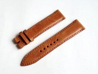 腕時計ベルト 20-18mm ブラウン #43の画像