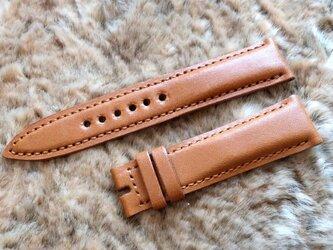 腕時計ベルト 20-18mm ブラウン #62の画像