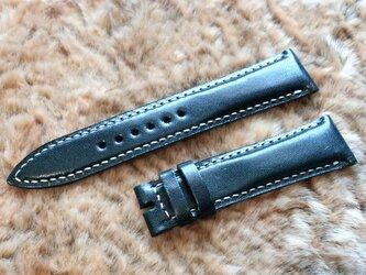 腕時計ベルト 20-18mm ダークグリーン #63の画像