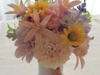 仏花   真珠の涙    歩  (造花、仏壇、お供え、お盆、お彼岸)の画像