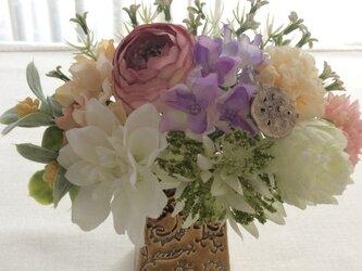 仏花   真珠の涙    蓮の画像