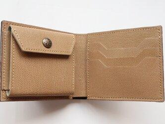 二つ折り財布 コインポケット付き #69の画像