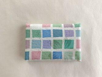 絹手染カード入れ(いろいろ・A)の画像