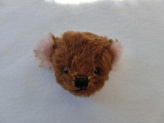 クマのbikke(ブローチ)の画像